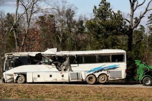 how to handle damages and injuries in a bus accident